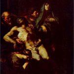 dipinto di Caravaggio al Pio Monte della Pietà - Itinerario Napoli Barocca