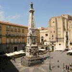 piazza San Domenico Maggiore - Itinerario Napoli Barocca