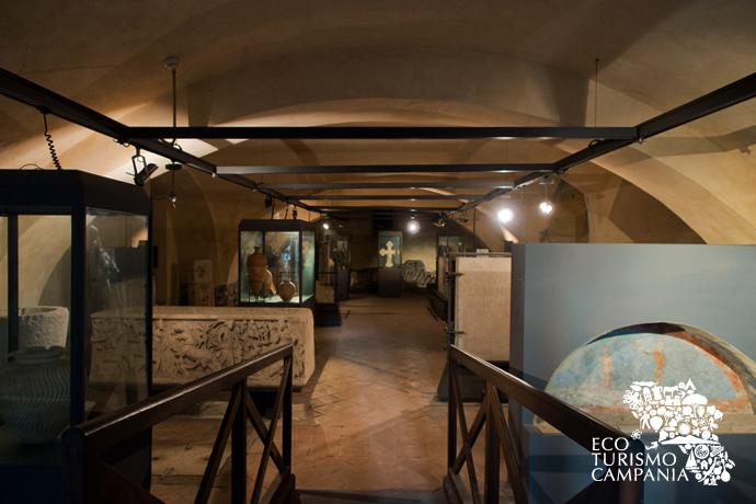 Antiquarium presso le Basiliche Paleocristiane di Cimitile (ph Gianfranco Adduci)