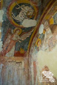 Affresco con l'Agnus Dei, Basilica Paleocristiana di San Felice, Cimitile (ph Gianfranco Adduci)