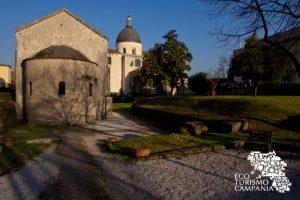 Abside Basilica di Santo Stefano e Parco delle Basiliche Paleocristiane di Cimitile (ph Gianfranco Adduci)