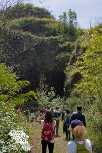 Escursione ai conetti dell'antico vulcano Somma, a Pollena Trocchia (ph Gianfranco Adduci)