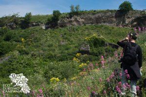 Escursione sui luoghi dell'eruzione del Vesuvio del 472 d.c. (ph Gianfranco Adduci)