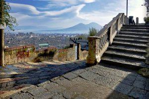 La pedamentina di San Martino a Napoli (foto di Vittorio Pandolfi)