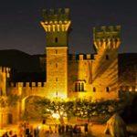 Il Castello Lancellotti a Lauro (Av) durante Lumina in Castro
