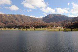 Panorama del Lago Laceno a Bagnoli Irpino