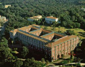 Museo e parco di Capodimonte a Napoli