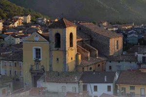 Panorama dell'antico borgo di Bagnoli Irpino