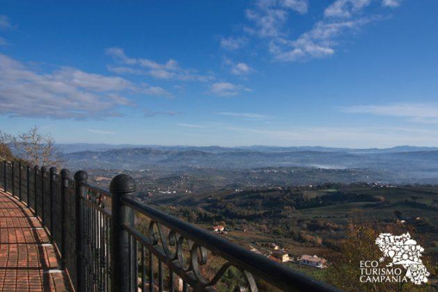 Montefusco, belvedere sull'Irpinia (ph Gianfranco Adduci)