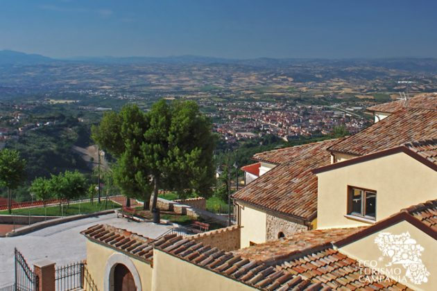 Montefusco, belvedere sul Sannio nella Villa Comunale (ph Gianfranco Adduci)