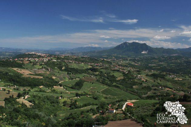 Panorama irpino da Montefusco (ph Gianfranco Adduci)