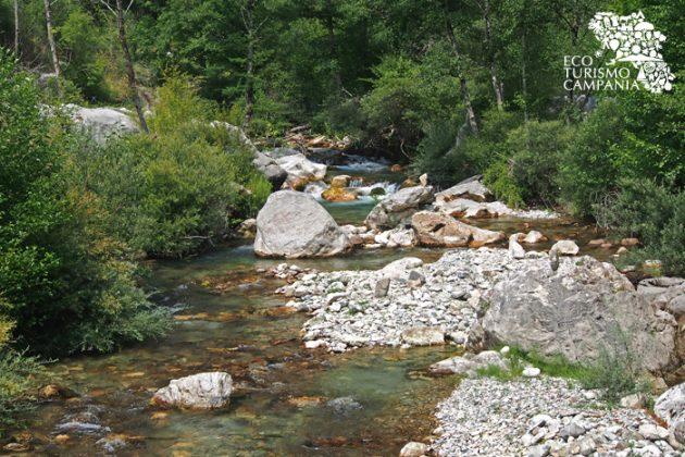 Panorama del fiume Sammaro (ph Gianfranco Adduci)