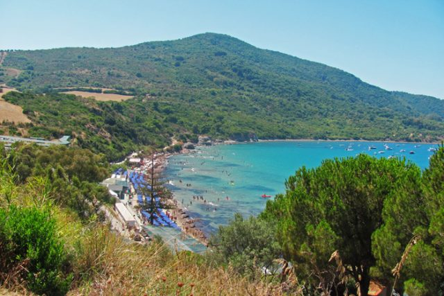 Panorama Baia Trentova ad Agropoli