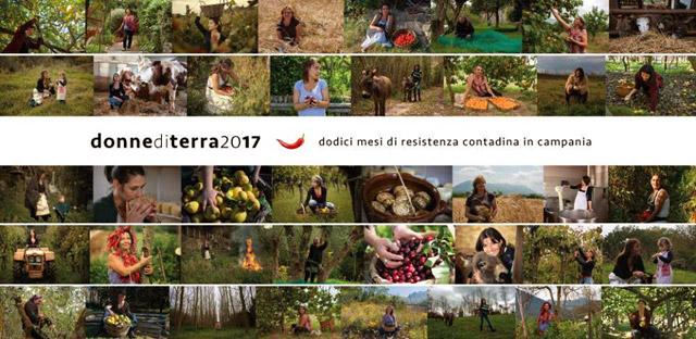 """Donne di Terra"" 2017, dodici mesi di resistenza contadina in Campania"