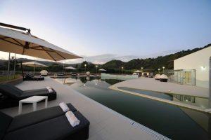 Terme di Agnano, piscine esterne