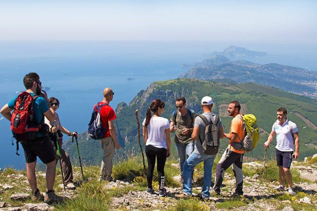 Escursione sul Monte Faito (foto di Cartotrekking)