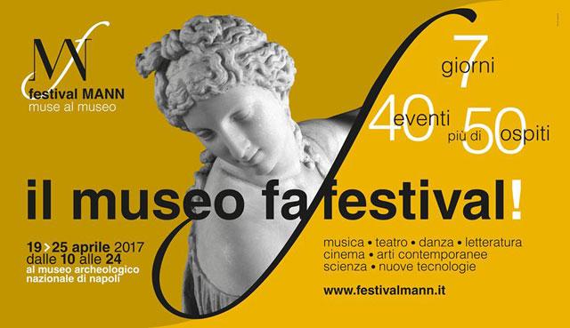 Festival MANN / muse al museo, prima edizione, Museo Archeologico Napoli