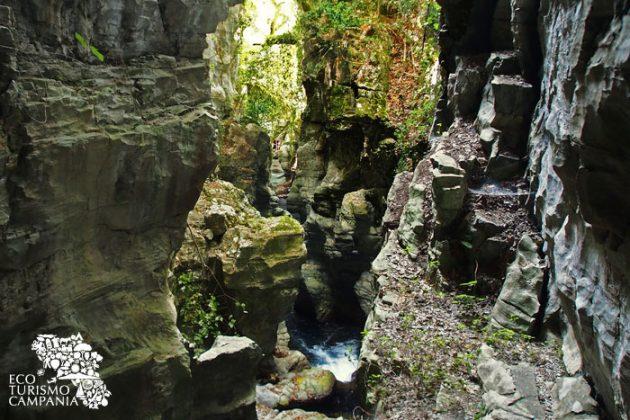 La grotta del Bussento nell'Oasi WWF a Morigerati (ph Gianfranco Adduci)
