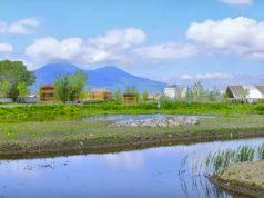 Parco Archeologico Ambientale di Longola, a Poggiomarino, in costruzione