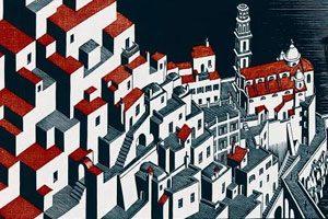 Sulle tracce di Escher in Costiera Amalfitana
