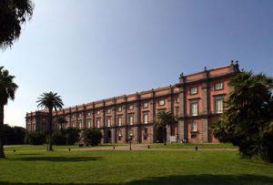 Esterno Museo di Capodimonte a Napoli