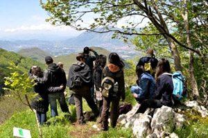 Escursione nell'Oasi Montagna di Sopra