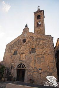 Chiesa del SS Salvatore a Caggiano (ph Gianfranco Adduci)