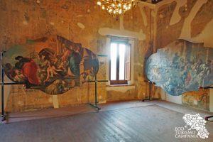 Mostra dipinti Peccheneda nel Castello di Caggiano (ph Gianfranco Adduci)