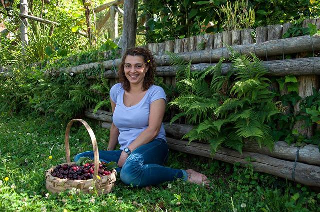Antonella Vanacore presso l'Agriturismo La Ginestra