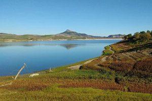 Panorama Oasi WWF Lago di Conza