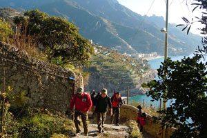 Trekking in Costiera Amalfitana con Andrea Perciato