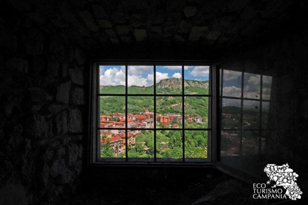 Panorama di Laviano nuova dal Castello (ph Gianfranco Adduci)