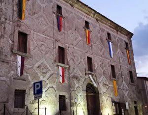 Solopaca, facciata del Palazzo Ducale