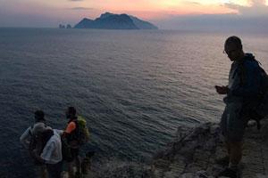 Escursioni e trekking in campania nel weekend 21 23 luglio for Separa il golfo di napoli da quello di salerno