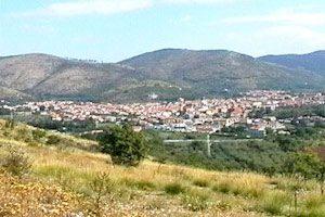 Panorama di Calvi Risorta