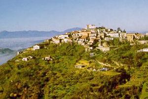 Panorama di Montecalvo Irpino