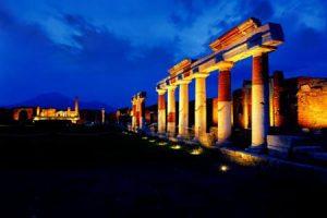 visite notturne scavi di pompei