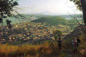 Panorama dal vulcano di Montenuovo