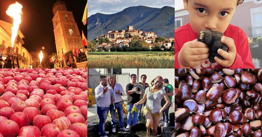 sagre e feste in Campania nel weekend 13 - 15 ottobre 2017