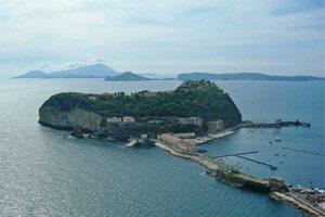 Isola di Nisida, panorama