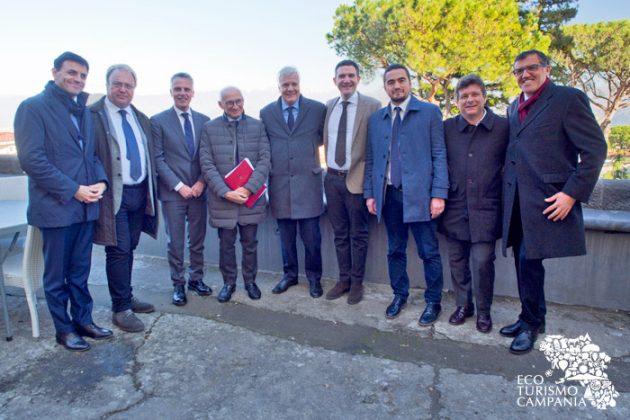 Sindaci comuni vesuviani con il Ministro dell'Ambiente e Sogesid