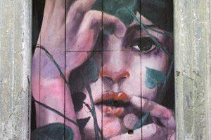 street art a Napoli (opera di Bosoletti)