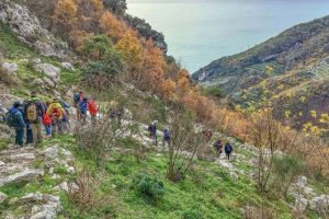 Trekking in Campania, costiera amalfitana, furore