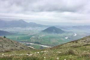 Il Sentiero del Mirto nei pressi di Casertavecchia