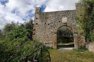 Lungo il sentiero del Barone nel Parco di Roccamonfina