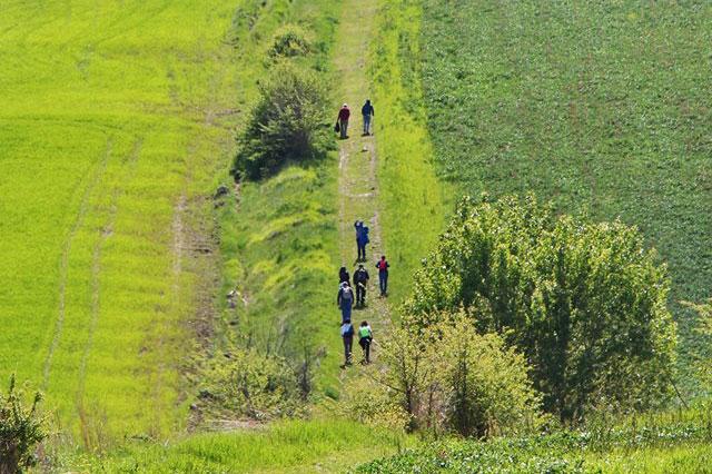 Un tratto della via traiana nel Sannio