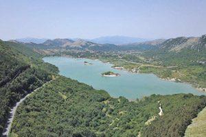 Panorama del lago Gallo di Matese