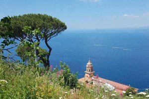 Panorama di Vico Equense dalle colline di San Francesco