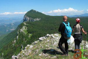 Trekking sul Monte Panormo, sugli Alburni