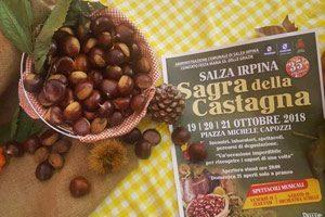 Sagra della Castagna a Salza irpina (edizione 2018)